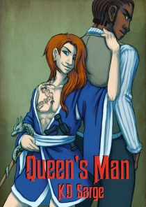 ebook cover for Queen's Man by KD Sarge