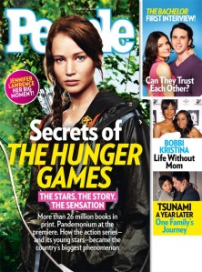 People cover for The Hunger Games