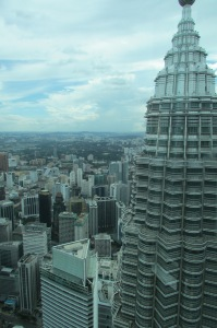 Twin Tower and KL skyline