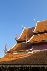 Roof-line of Wat Prathat Doi Suthep