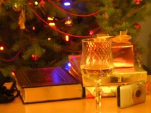 Christmas with book